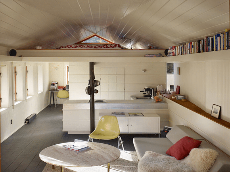 A garage conversion is an inexpensive way to accommodate extended family.