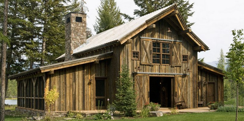 A barn saved from decay to become a great home!