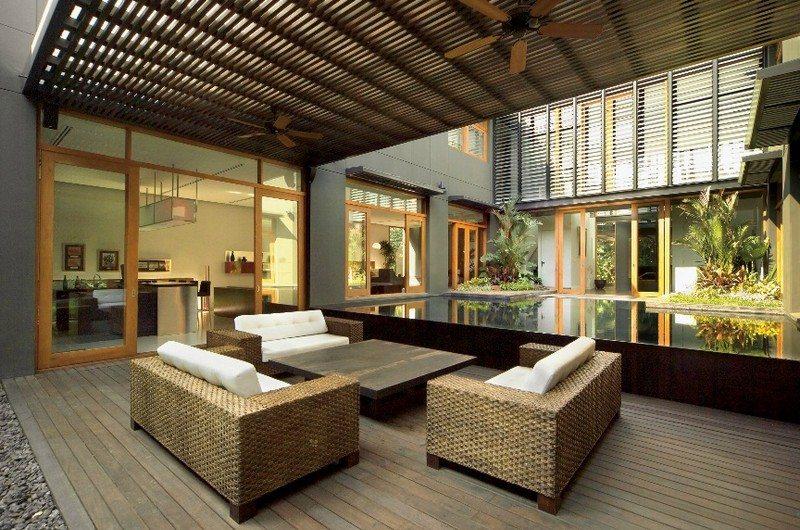 Bangkok House - an oasis of privacy