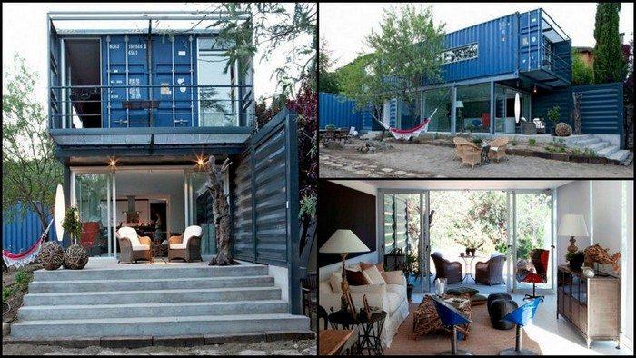 Casa el tiamblo house hunting - Casa container espana ...