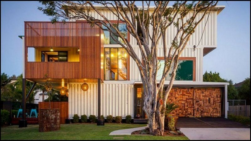 31 containers make one very large home!
