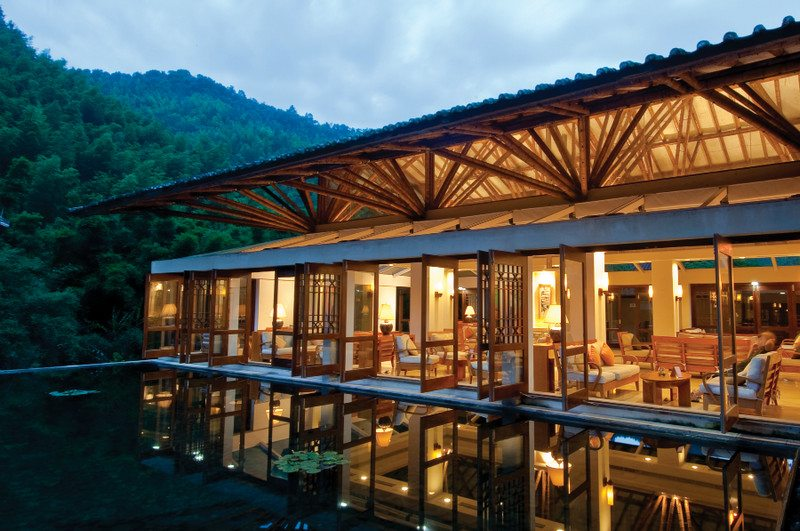 Crosswaters Ecolodge is the first ecotourism destination in China.