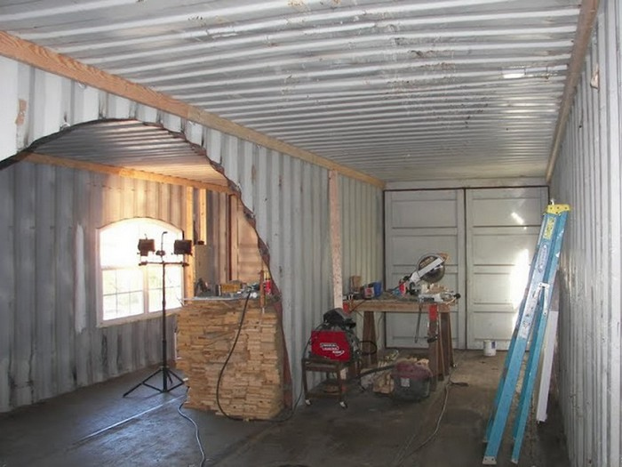 DIY Shipping Container Home