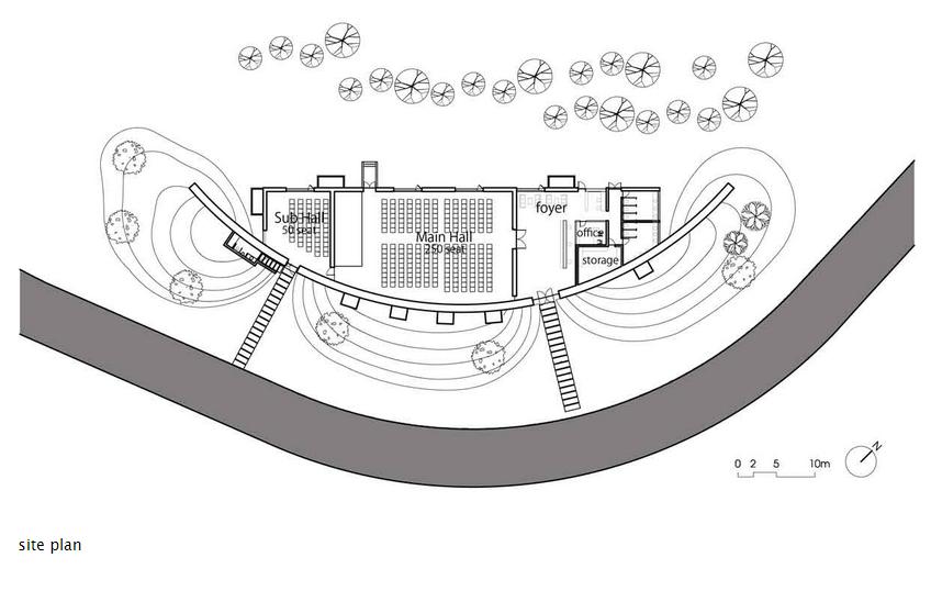 Dalai Conference Hall Plan