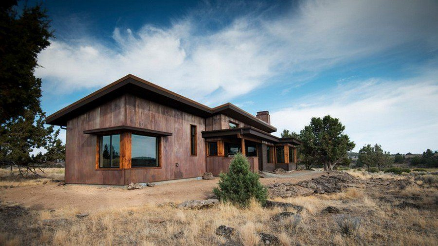 Eastern Oregon Modern Ranch - Exterior