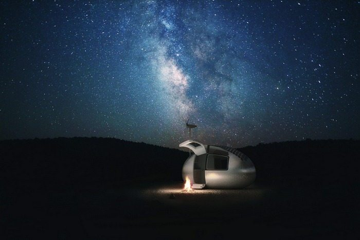 Ultimate glamping?
