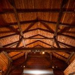 The guest barn ceiling
