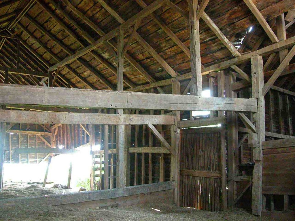 The barn as found!
