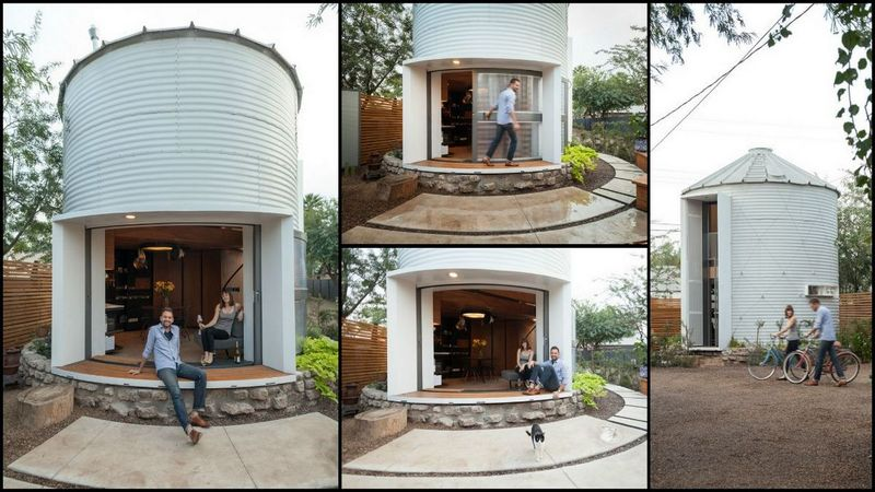 From Grain Silo To A Comfortable Home on Kansas Floor Plans