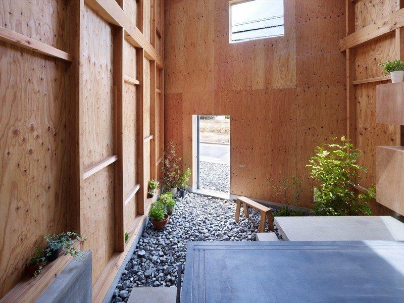 Inside - Outside - House in Seya