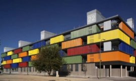 Colour has its turn – Public housing in Madrid