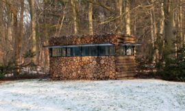 A Log Cabin on Wheels…