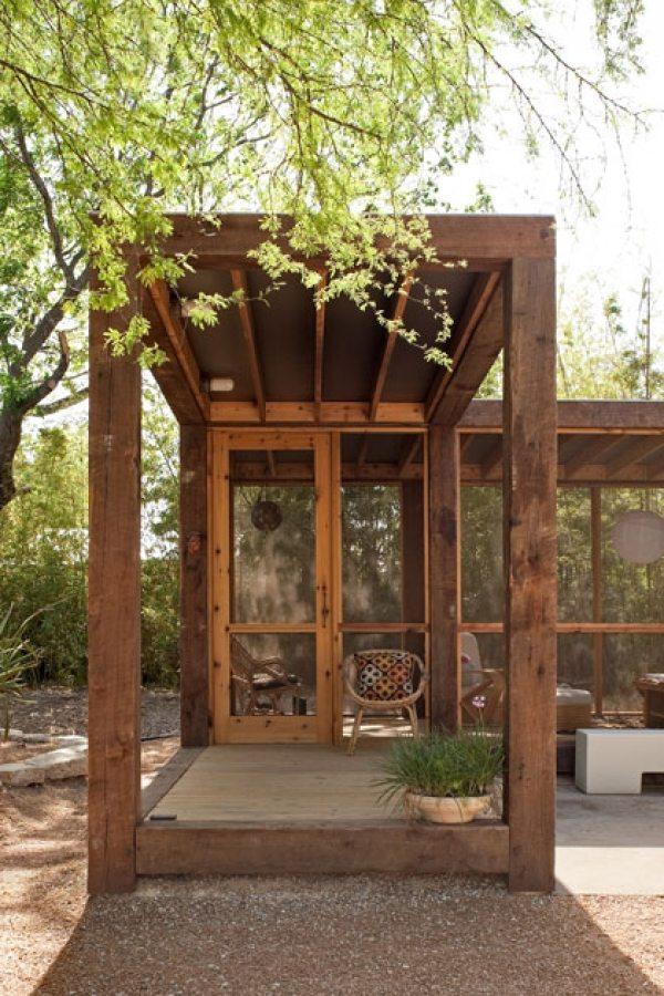 The Poteet Loft Porch