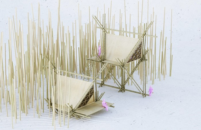 One with the Birds by Penda Design House