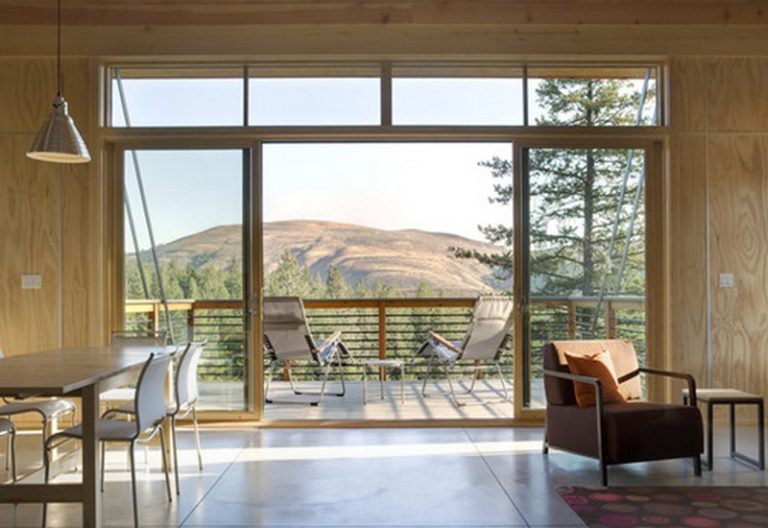 Well-balanced Pine Forest cabin