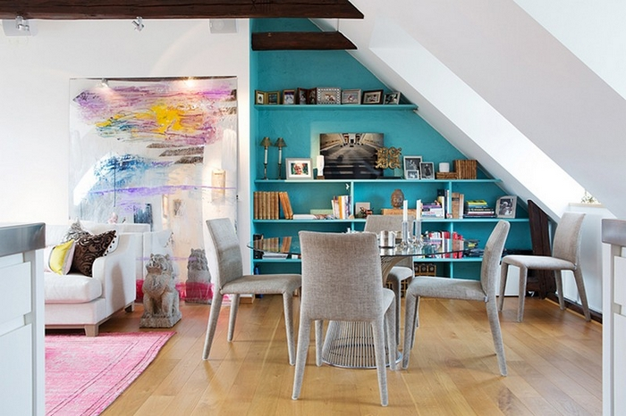 Live Beautifully In A Scandinavian Loft With Two Terraces