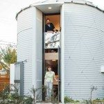 From grain silo to a comfortable home…