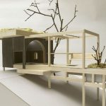Tea House with Hanging Garden by A1 Architects