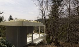 Tea House with Hanging Garden – A1 Architects