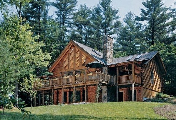 The Rossano Log Home
