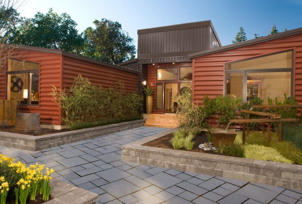 A misnomer but very modular from Timberland Homes