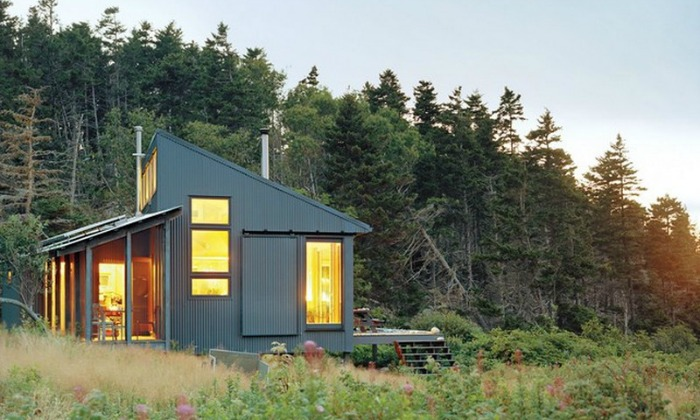 Tiny Cabin in Maine