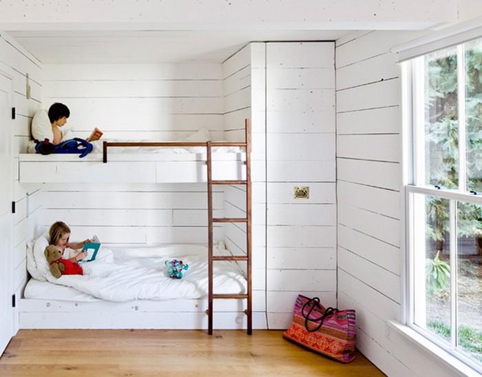 Tiny House on a River Island Jessica Helgerson Interior Design