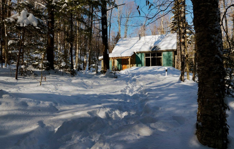 Winter Cabin in Vermont