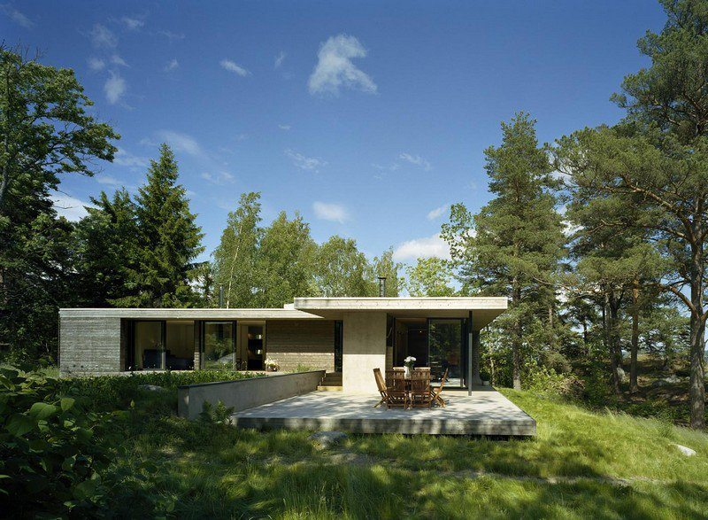 An Island Home Near Stockholm