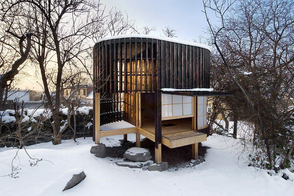 Tea House in a Garden