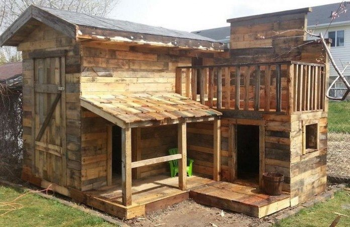 And The Fourth Little Piggy Built His Home From Pallets House Hunting