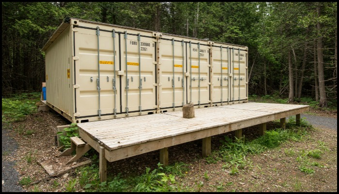 Joseph Dupuis Shipping Container Cabin Main Image