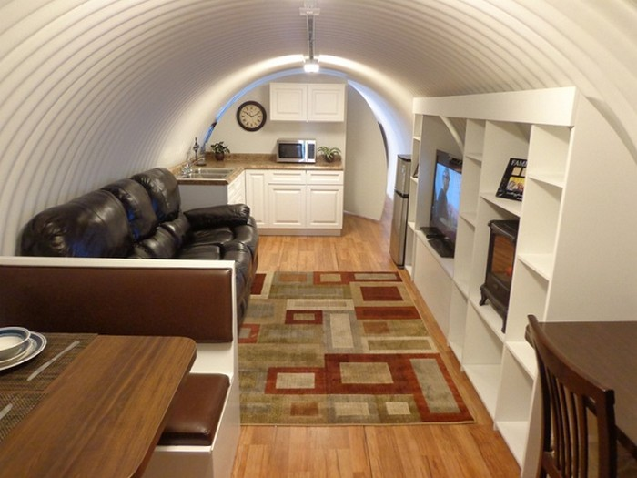 Bunkers Turned into Homes - Atlas Survival Shelter
