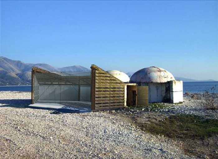 Bunkers Turned Into Homes   Concrete Mushroom Hostels