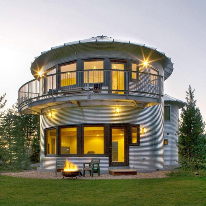 Unloved Grain Silos Converted Into Homes!