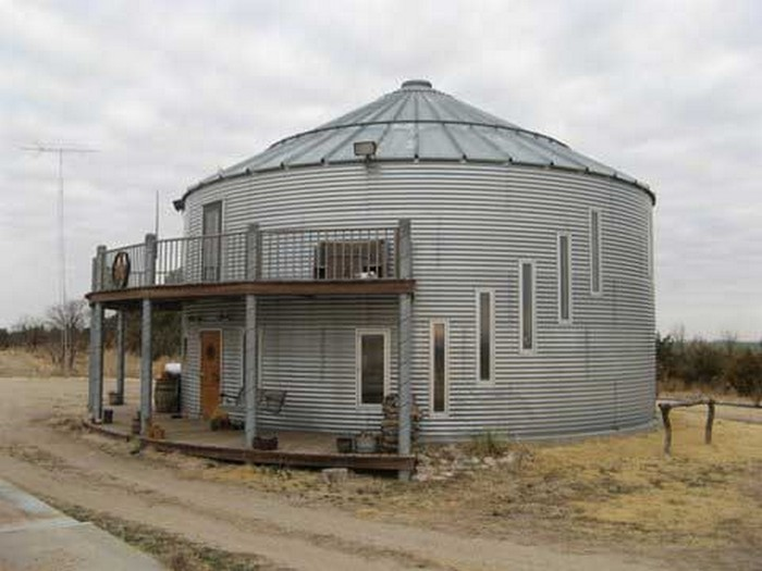 Silo Homes - Grain Bin in Kansas