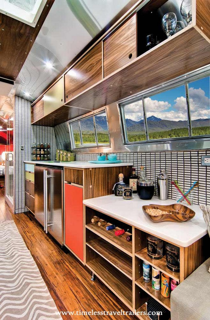 1962 Western Pacific Airstream Converted Into Luxury Home