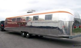 1962 Western Pacific Airstream converted into luxury home!