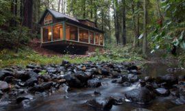 Dreamy creekside retreat in Santa Rosa, California