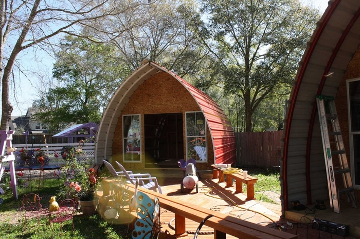 Arched Cabins