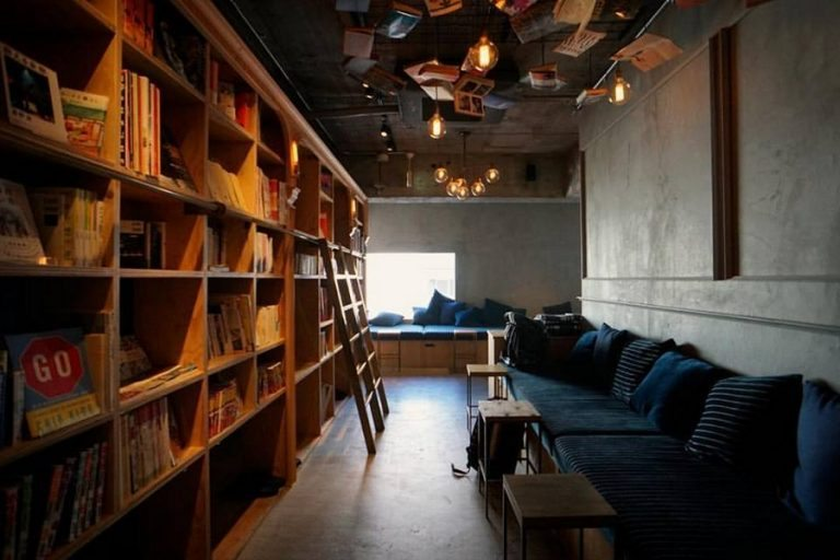 Read yourself to sleep in this unique hostel in Kyoto, Japan!
