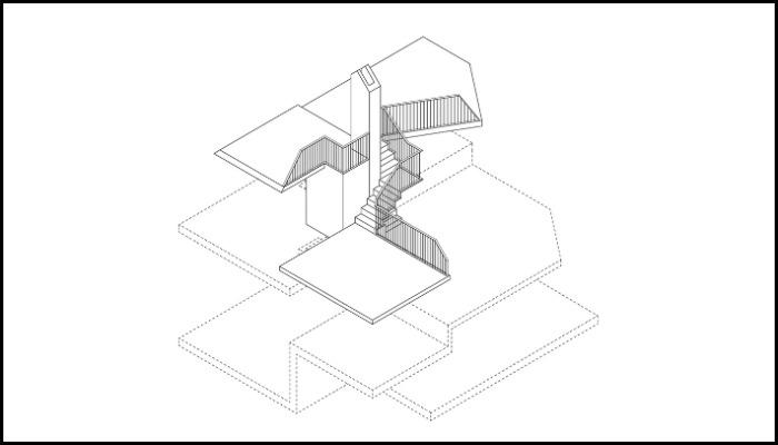 Dune House Split-Level Floors