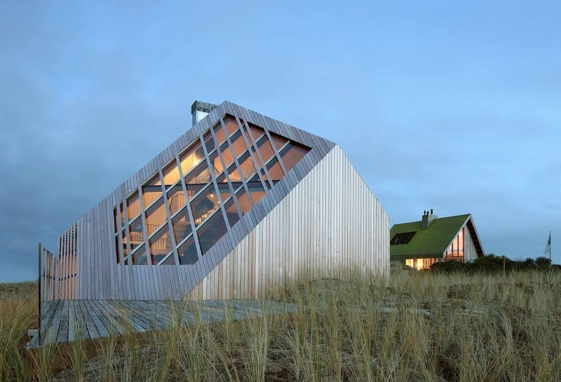 Half-Sunk Dune House