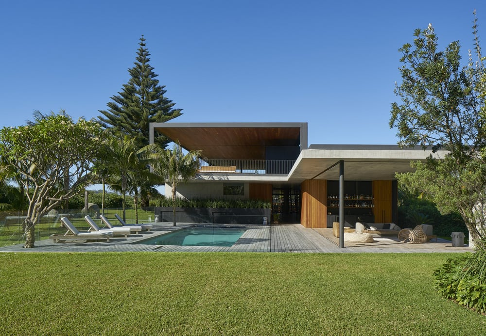 The Sunrise House exudes a relaxed and cool way of life.