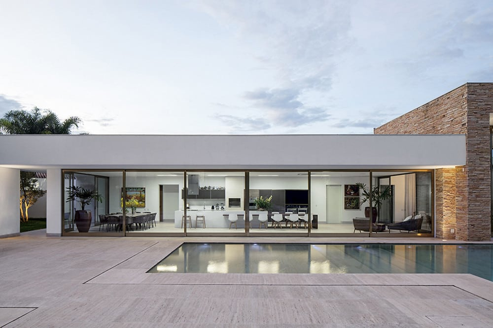 A single-story house that showcases luxury in simplicity.