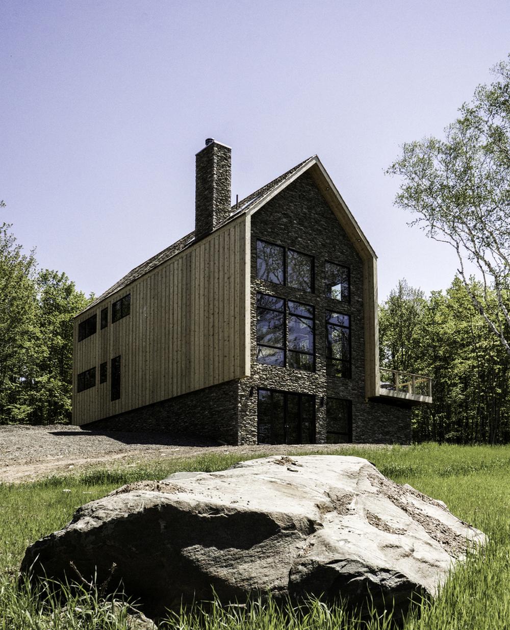 Cedar and Stone House